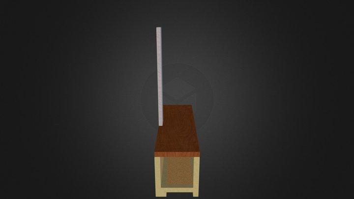 Projeto bancada 3D Model