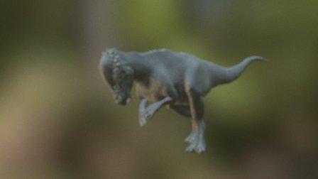 Pachycephalosaurus 3D Model