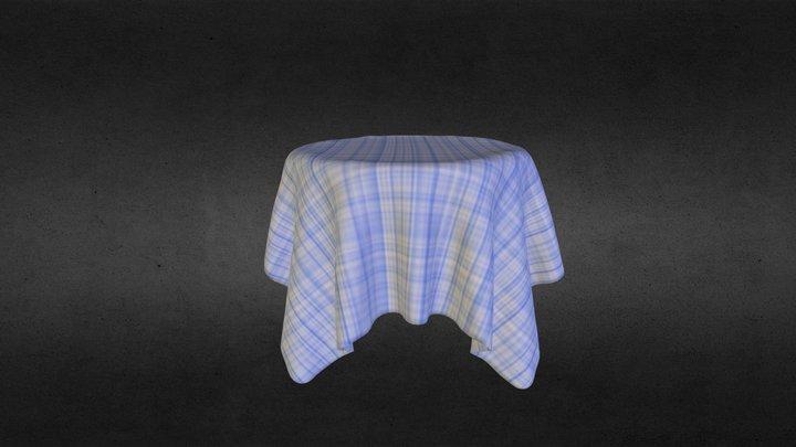 Table Cloth 3D Model