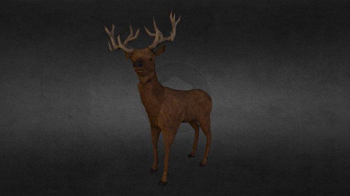 Deer 1.0 3D Model