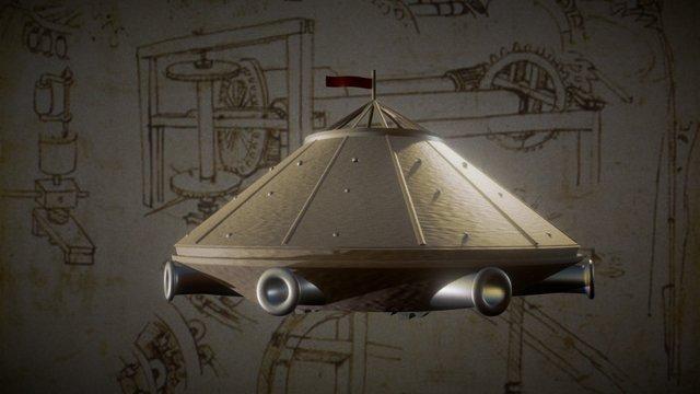 Da vinci tank 3D Model