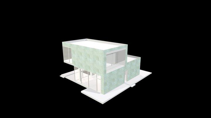 Verde Spluga_Levigato_60x60 cm 3D Model