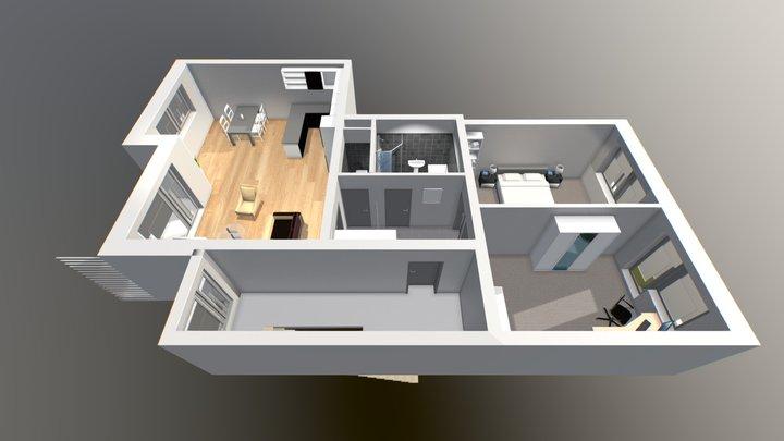 Byt 2NP B 3D Model