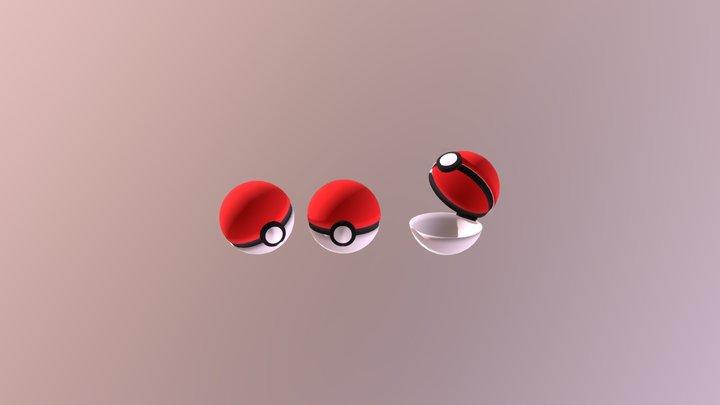 Poke Ball Masters Version 3D Model
