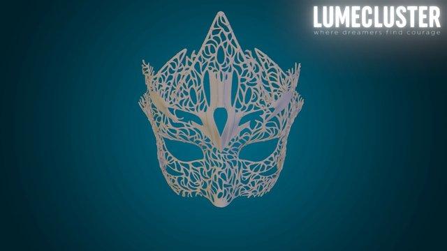 Lumecluster Dreamer Half Mask: Beacon 3D Model