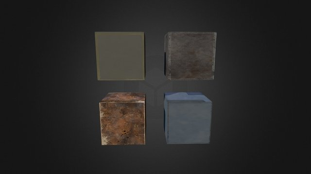 FACTORY- Textures 3D Model