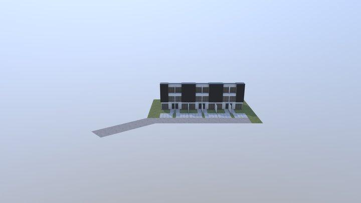 Sikorskiego - koncepcja 1 3D Model