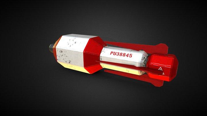 Rocket Launcher Rocket 3D Model