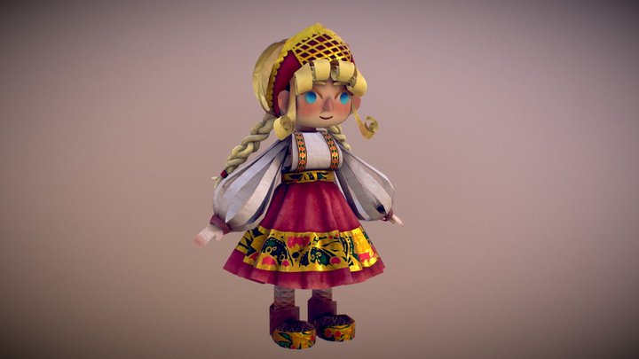 Anya 3D Model