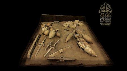 Museo etrusco di Populonia. Room of the Sea 3D Model
