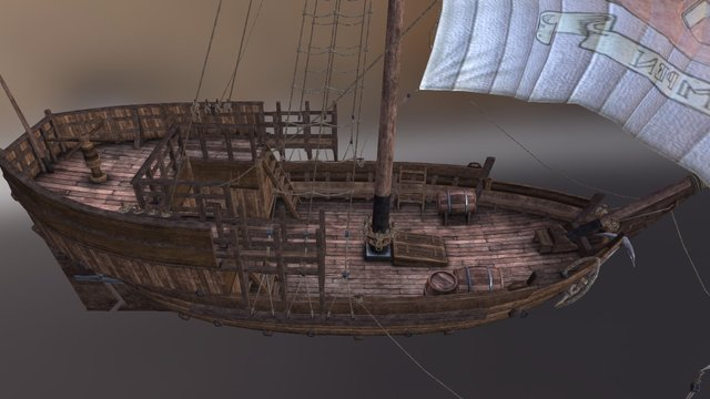 Viking Cog 3D Model