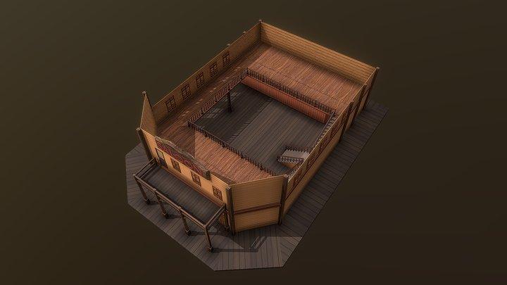 Day1. Building frame 3D Model