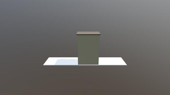 Hiša - Naloga 1 - Optimised 3D Model