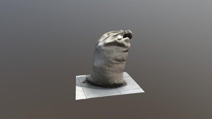 Sandbag - Photogrammetry 3D Model