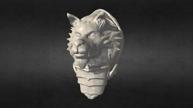 Pauldron 3D Model