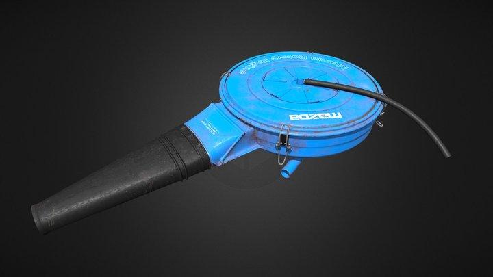 Mazda RX-7 SA/FB Air cleaner box 3D Model