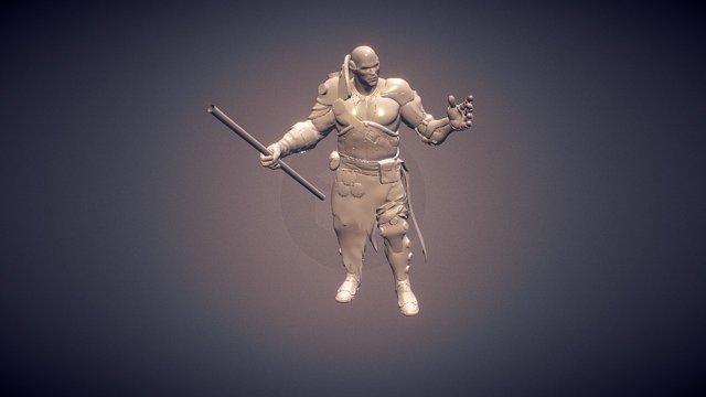 Warrior - WIP 3D Model
