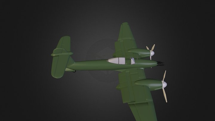 whirly mk2 3D Model