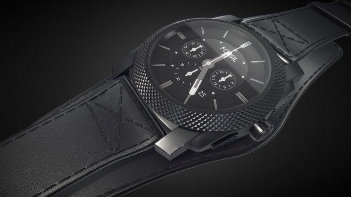 Fossil Watch 3D Model