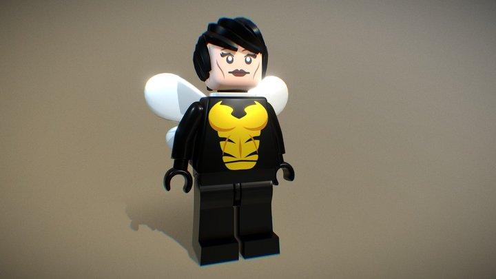 Wasp LEGO 3D Model