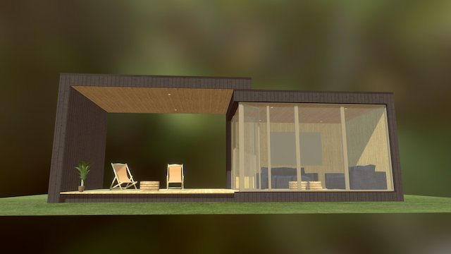 garden office 3D Model