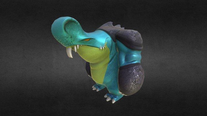 Snuffle Creature 3D Model