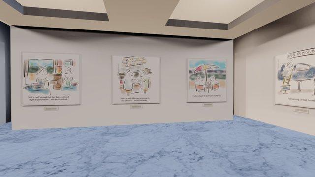 Instamuseum for @lifewithbarphy 3D Model
