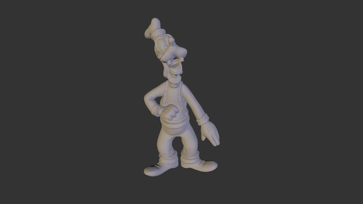 Goofy Scan More Cleanup 3D Model