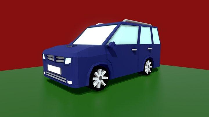 Azure Shellraiser 3D Model