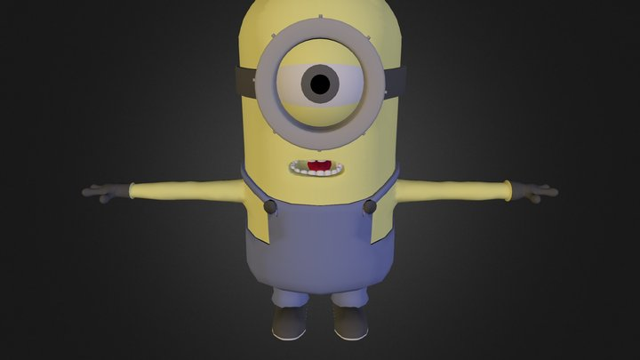 Minimon For Upload 3D Model