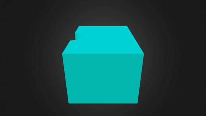 Block 'B' 3D Model