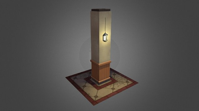 Pillar - Clean Version 3D Model