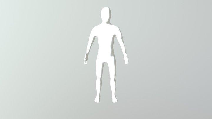 Mideterm Male Body1 3D Model