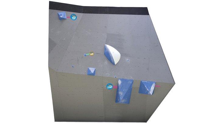 IFSC Climbing World Cup Hachioji 2018 Final M1 3D Model
