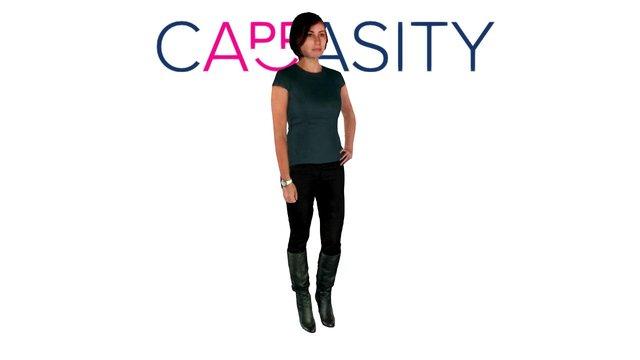 Nina. Cappasity Full-body 3D Scannning 3D Model