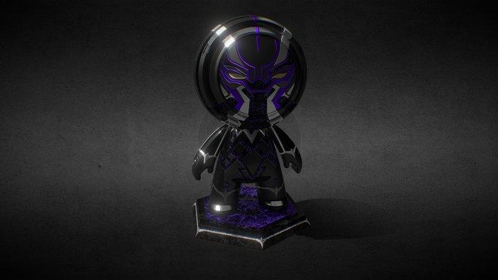 Black Panther - Meet Mat 3D Model
