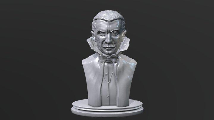 Bela Lugosi as Dracula 3D Model