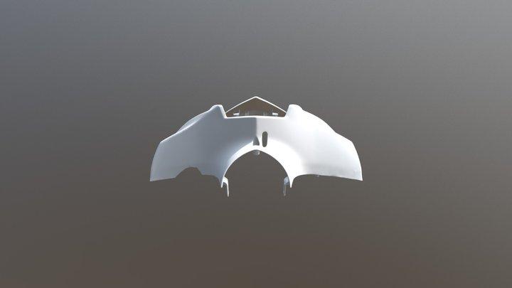 摩托車車頭 3D掃描 3D Model