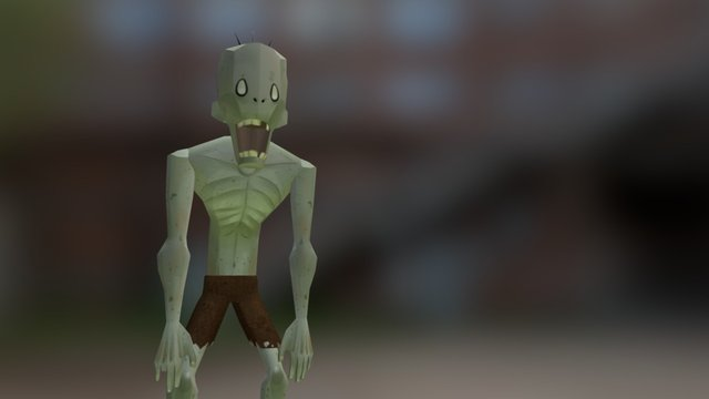 This Zombie need a friend 3D Model