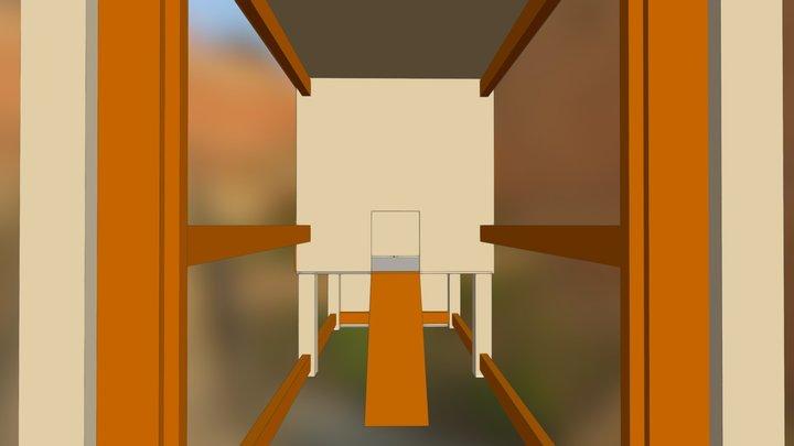 Chicken Coop v2 3D Model