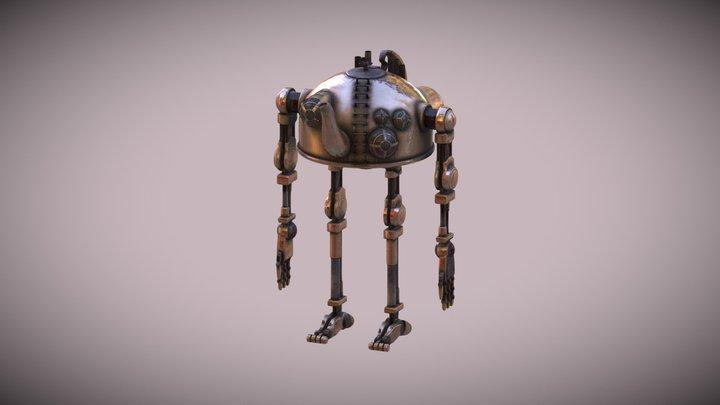 teabot 3D Model