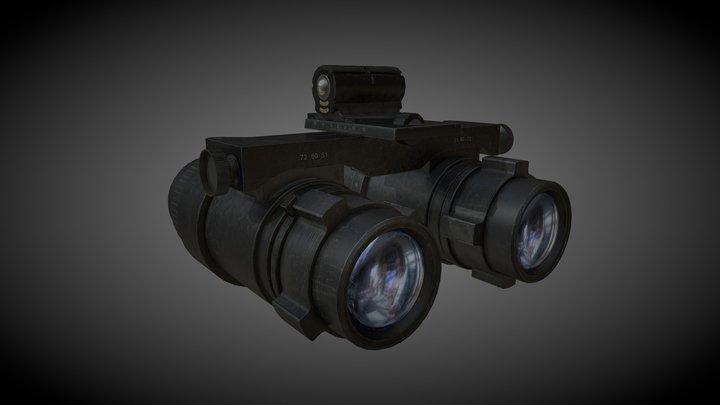ANVIS-9 Aviator Night Vision Goggles 3D Model