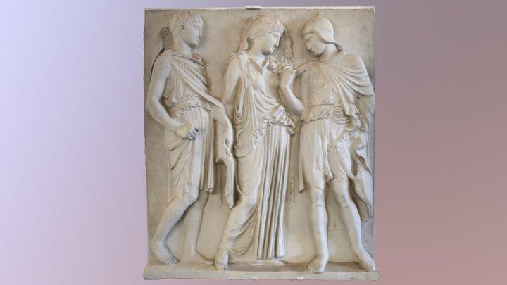 Orpheus-Relief 3D Model