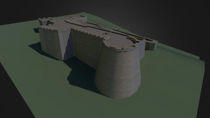 Castillo de San Fernando 3D Model