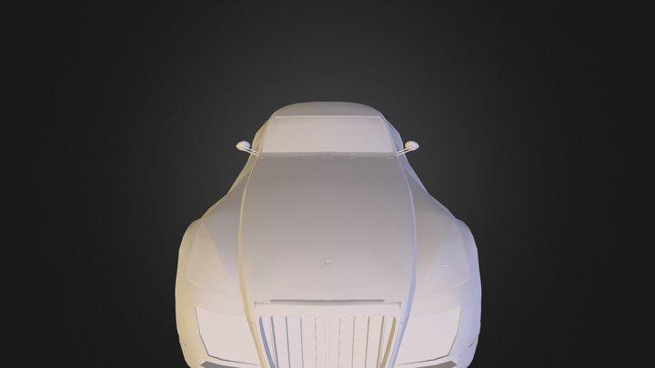 Maybach Exelero 3D Model