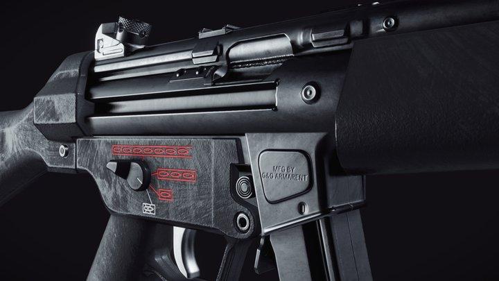 H&K MP5 3D Model