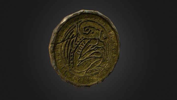 Cthulhu_Coin_HW10 3D Model