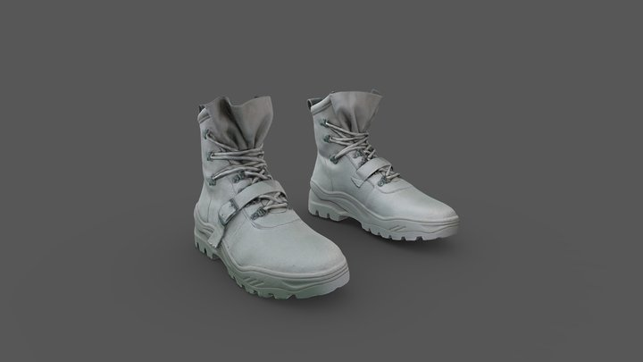 Pair of Boots 3D Model