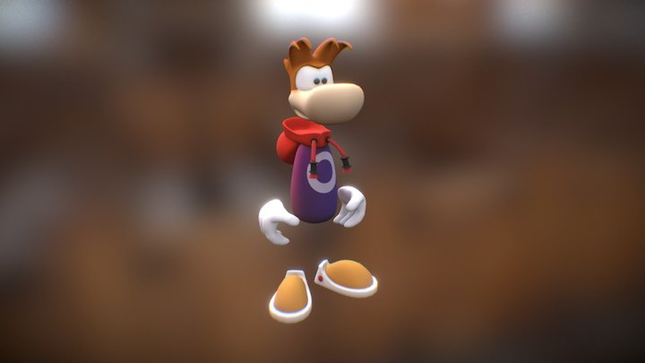 Rayman 3D Model