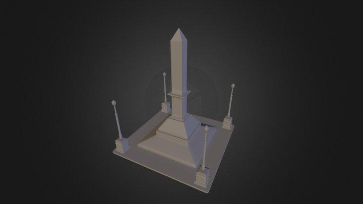 Praça Sete - BH 3D Model